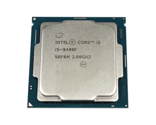 Процессор Intel Core i5-9400F 2,90GHz (4,10GHz) 6core L3-9Mb 2xDDR4-2666 TDP-65W LGA1151-v2 OEM