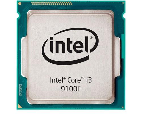 Процессор Intel Core i3-9100F 3,60GHz (4,20GHz) 4core L3-6Mb DDR4-2400 TDP-65W LGA1151-v2 OEM