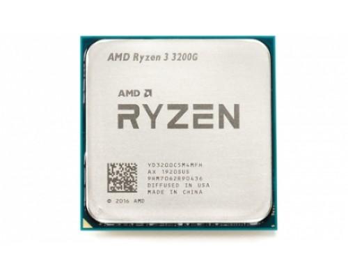 Процессор AMD Ryzen R3-3200G 3,6GHz 4core L3-4МБ 2xDDR4-2800 Radeon Vega 8 TDP-65W SocketAM4 OEM