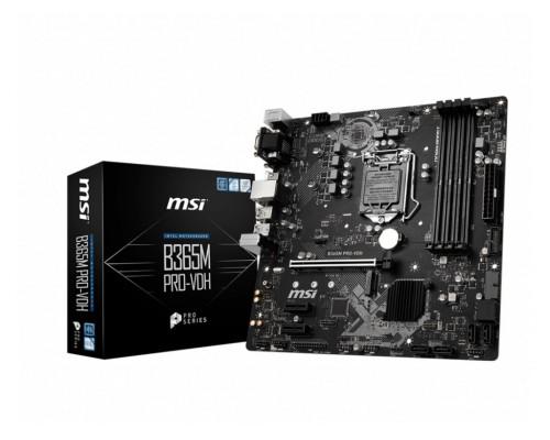 Материнская плата MSI L1151 B365M PRO-VDH 4xDDR4 1xM2 mATX RTL