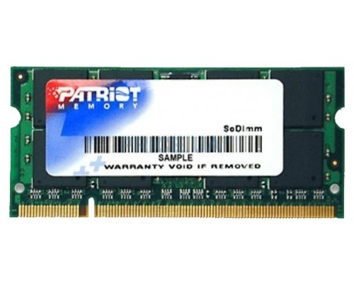 Модуль памяти DDR2 Patriot 2Gb 800MHz CL6 SO-DIMM PSD22G8002S RTL