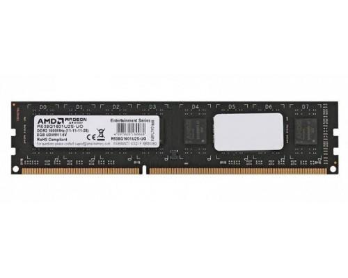 Модуль памяти DDR3 AMD 8Gb 1600MHz CL11 DIMM 1,5v R538G1601U2S-UO RTL