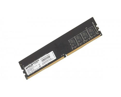 Модуль памяти DDR4 AMD Radeon 4Gb 2400MHz CL15 DIMM R744G2400U1S-UO Performance Series RTL
