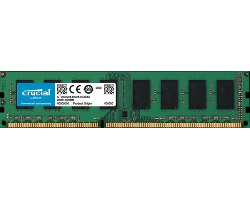 Модуль памяти DDR3 Crucial 8Gb 1600MHz CL11 DIMM 1,35v CT102464BD160B RTL