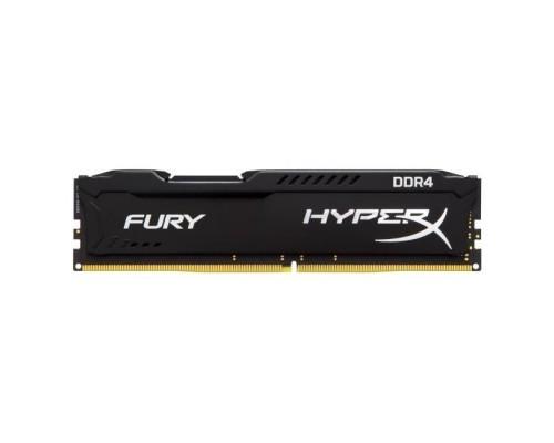 Модуль памяти DDR4 Kingston 8Gb 2400MHz CL15 DIMM 1,2v HyperX Fury HX424C15FB2/8 RTL