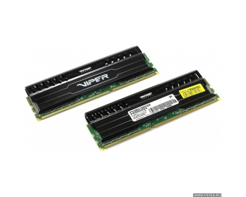 Модуль памяти DDR3 Patriot 8Gb 1600MHz CL10 DIMM 1,5v Viper 3 PV38G160C0 RTL