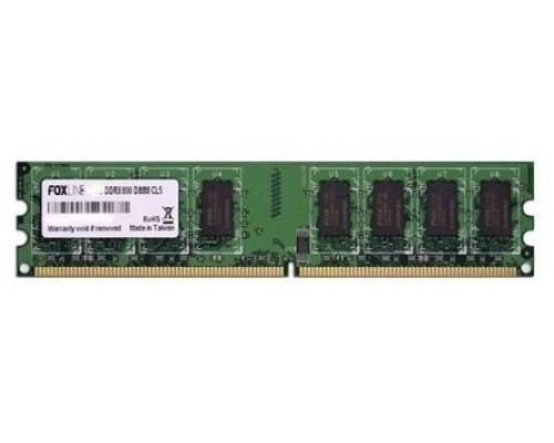Модуль памяти DDR2 Foxline 2Gb 800МГц CL5 DIMM FL800D2U5-2G