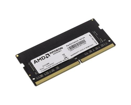 Модуль памяти DDR4 AMD 8Gb 2400MHz CL16 SO-DIMM 1,2v R7 Performance R748G2400S2S-UO