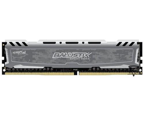 Модуль памяти DDR4 Crucial 16Gb 2400MHz CL16 DIMM BLS16G4D240FSB Ballistix Sport LT RTL