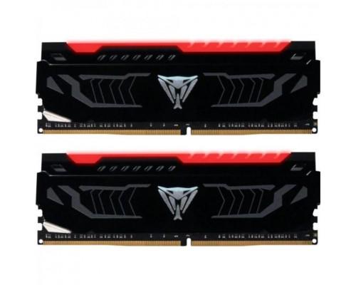 Модуль памяти DDR4 Patriot 2х8Gb 2666MHz CL15 DIMM 1,2v Viper LED PVLR416G266C5K RTL