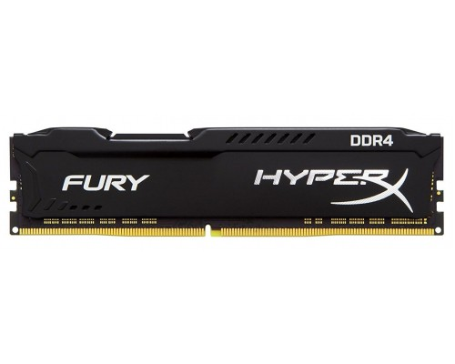 Модуль памяти DDR4 Kingston 16Gb 2666MHz CL16 DIMM 1,2v HyperX Fury HX426C16FB/16 RTL