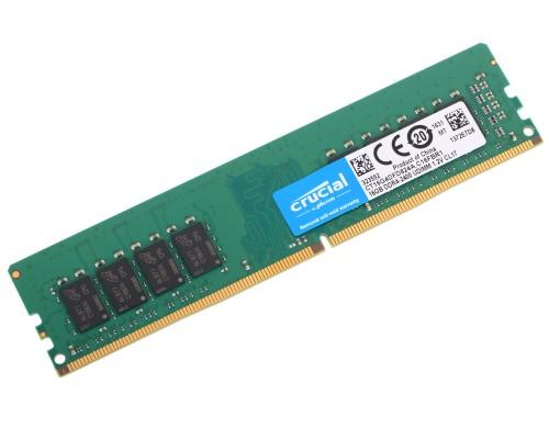 Модуль памяти DDR4 Crucial 16Gb 2400MHz CL17 1,2v DIMM CT16G4DFD824A RTL