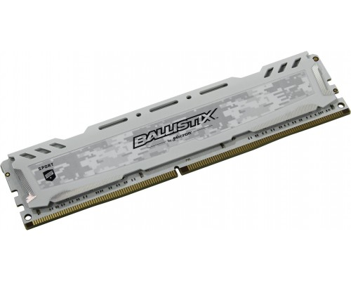 Модуль памяти DDR4 Crucial 16Gb 2666MHz CL16 DIMM 1,2v BLS16G4D26BFSC Ballistix Sport LT RTL