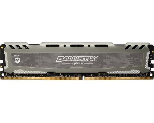 Модуль памяти DDR4 Crucial 16Gb 2666MHz CL16 DIMM 1,2v BLS16G4D26BFSB Ballistix Sport LT RTL