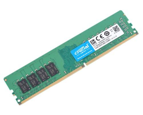 Модуль памяти DDR4 Crucial 16Gb 2666MHz CL19 DIMM 1,2v CT16G4DFD8266 RTL