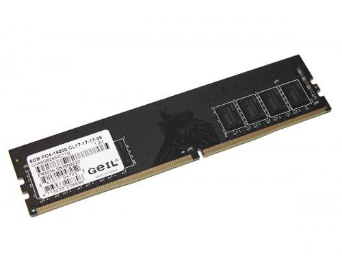 Модуль памяти DDR4 Geil 8Gb 2400MHz CL17 DIMM 1,2v GN48GB2400C17S OEM