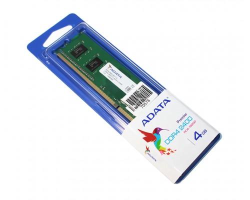 Модуль памяти DDR4 ADATA 4Gb 2400MHz CL17 DIMM 1,2v Premier AD4U2400J4G17-S OEM