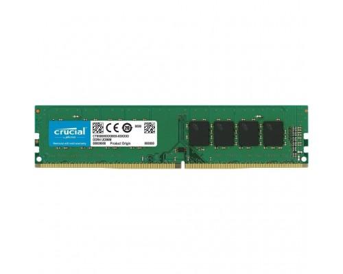 Модуль памяти DDR4 Crucial 4Gb 2666MHz CL19 1,2v DIMM CT4G4DFS8266 RTL