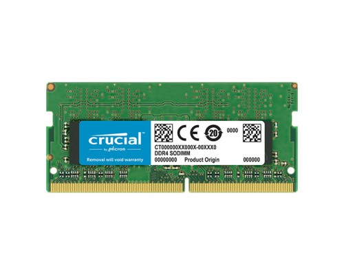Модуль памяти DDR4 Crucial 8Gb 2666MHz CL19 SO-DIMM 1,2v CT8G4SFS8266 RTL
