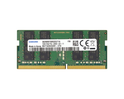 Модуль памяти DDR4 Samsung 16Gb 2666MHz CL19 SO-DIMM 1,2v M471A2K43CB1