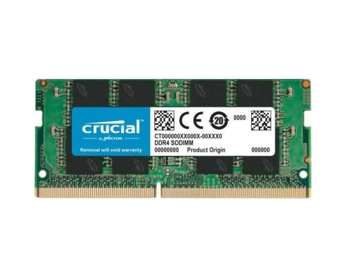 Модуль памяти DDR4 Crucial 8Gb 2666MHz CL19 SO-DIMM 1,2v CT8G4SFRA266 RTL