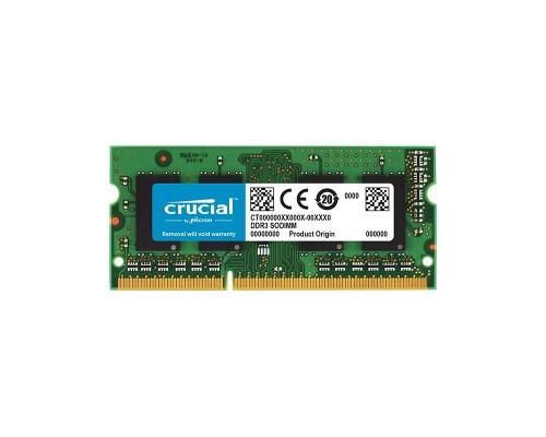 Модуль памяти DDR3 Crucial 8Gb 1866MHz CL11 SO-DIMM 1,35v CT102464BF186D RTL