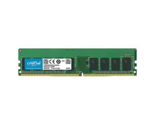 Модуль памяти DDR4 Crucial 8Gb 2666MHz CL19 1,2v DIMM CT8G4DFRA266 RTL