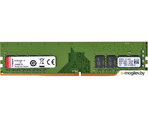 Модуль памяти DDR4 Kingston 8Gb 2666MHz CL19 DIMM 1,2v ValueRAM KVR26N19S6/8 RTL