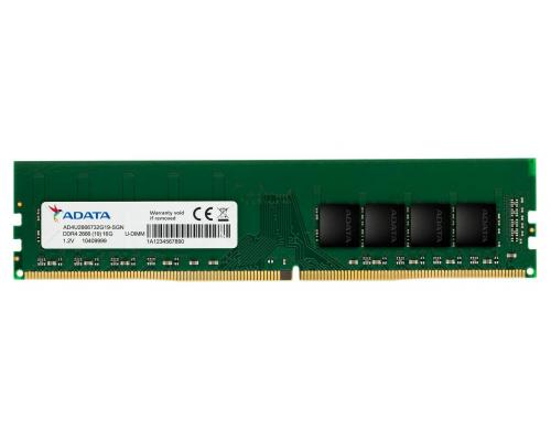 Модуль памяти DDR4 ADATA 16Gb 2666MHz CL19 DIMM 1,2v Premier AD4U2666716G19-SGN RTL
