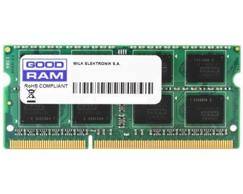 Модуль памяти DDR4 Goodram 8Gb 2666MHz CL19 SO-DIMM 1,2v GR2666S464L19S/8G