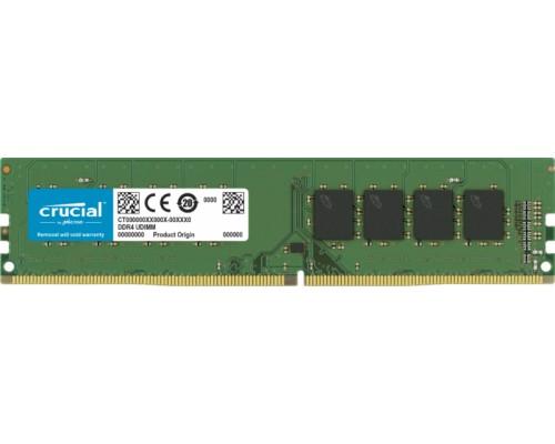 Модуль памяти DDR4 Crucial 8Gb 3200MHz CL22 1,2v DIMM CT8G4DFRA32A RTL