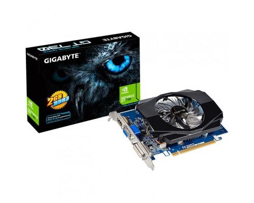 Видеокарта 2048Mb PCI-E Gigabyte GeForce GT730 GV-N730D5-2GI 64bit PCI-E 2.0 GDDR5 1xD-Sub 1xDVI-D 1xHDMI RTL