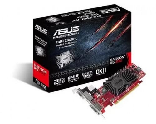 Видеокарта 2048Mb PCI-E Asus Radeon R5 230 R5230-SL-2GD3-L 64bit PCI-E 2.1 DDR3 1xDVI 1xHDMI 1xD-Sub RTL