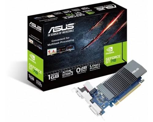 Видеокарта 1024Mb PCI-E Asus GeForce GT710 GT710-SL-1GD5 32bit PCI-E 2.0 GDDR5 1xD-Sub 1xDVI 1xHDMI Silent RTL