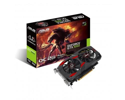 Видеокарта 2048Mb PCI-E Asus GeForce GTX1050 CERBERUS-GTX1050-O2G 128bit PCI-E 3.0 GDDR5 1xDVI-D 1xHDMI 1xDP RTL