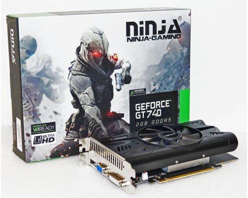 Видеокарта 2048Mb PCI-E Sinotex GeForce GT740 NH74NP025F 128bit PCI-E 3.0 GDDR5 1xD-Sub 1xDVI 1xHDMI RTL