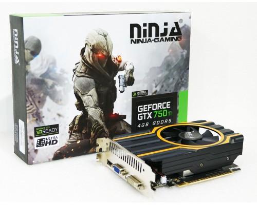 Видеокарта 4096Mb PCI-E Sinotex GTX750Ti NK75TI045F 128bit PCI-E 3.0 GDDR5 D-SUB DVI HDMI RTL