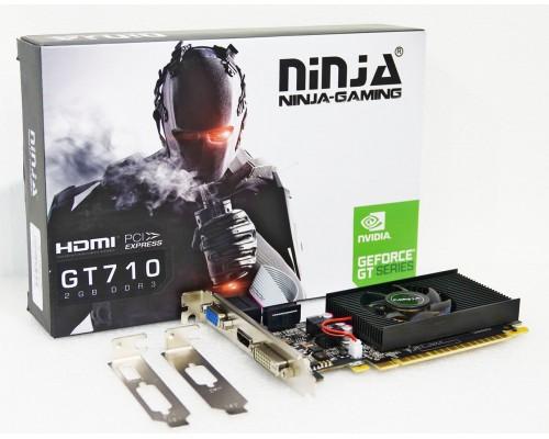 Видеокарта 2048Mb PCI-E Sinotex GeForce GT710 NK71NPU23F 64bit PCI-E 2.0 GDDR3 1xD-Sub 1xDVI 1xHDMI RTL