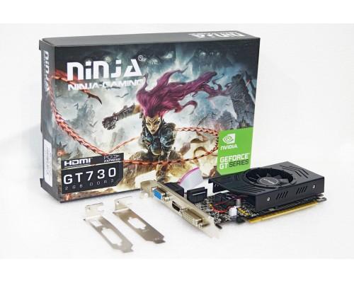 Видеокарта 2048Mb PCI-E Sinotex GeForce GT730 NK73NPU23F 128bit PCI-E 2.0 GDDR3 D-Sub DVI-D HDMI RTL