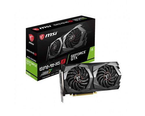 Видеокарта 4096Mb PCI-E MSI GeForce GTX 1650 GAMING X 4G 128bit PCI-E 3.0 GDDR5 2xHDMI 1xDP RTL