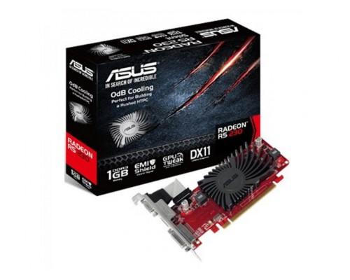 Видеокарта 1024Mb PCI-E Asus Radeon R5 230 R5230-SL-1GD3-L 64bit PCI-E 2.1 DDR3 1xDVI 1xHDMI 1xD-Sub RTL