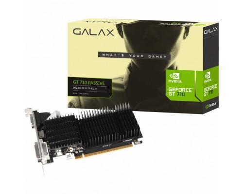 Видеокарта 2048Mb PCI-E KFA2 GeForce GT 710 2G D3H (71GPF4HI00GK) 64bit PCI-E 2.0 GDDR3 1xD-Sub 1xDVI 1xHDMI Silent RTL