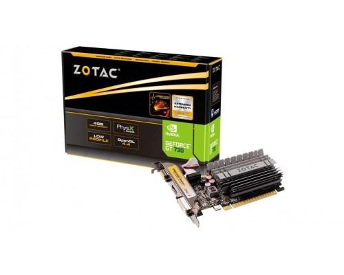Видеокарта 4096Mb PCI-E Zotac Zone Editio GeForce GT730 ZT-71115-20L 64bit PCI-E 2.0 GDDR3 1xD-Sub 1xDVI 1xHDMI Silent RTL