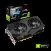Видеокарта 6144Mb PCI-E Asus GeForce GTX 1660 SUPER DUAL-GTX1660S-O6G-EVO 192bit PCI-E 3.0 GDDR6 1xDVI 1xHDMI 1xDP RTL