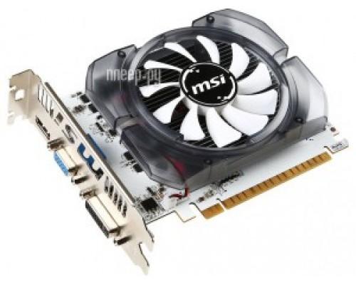 Видеокарта 4096Mb PCI-E MSI GeForce GT730 N730K-4GD3/OCV1 64bit PCI-E 2.0 GDDR3 1xD-Sub 1xDVI 1xHDMI RTL