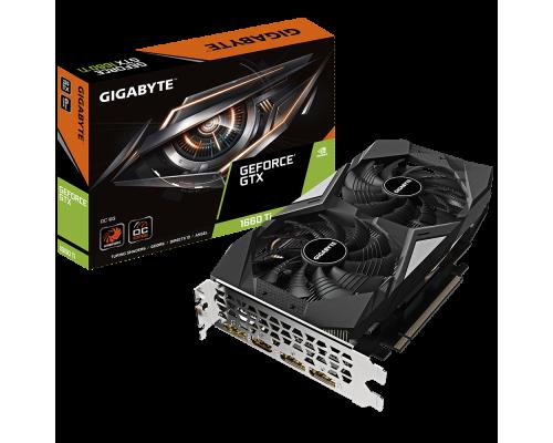 Видеокарта 6144Mb PCI-E Gigabyte GeForce GTX 1660Ti GV-N166TOC-6GD 192bit PCI-E 3.0 GDDR6 1xHDMI 3xDP RTL