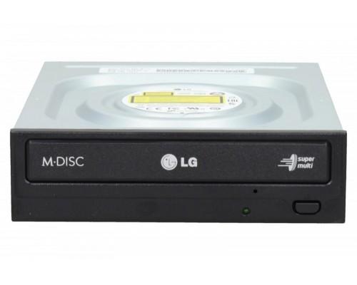 Дисковод DVD-RW 24xW/8xRW/16xR/48xW/24xRW/48xR LG GH24NSD1, SATA, черный