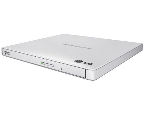 Дисковод DVD-RW 8xW/8xRW/8xR/24xW/24xRW/24xR LG GP57EW40, белый (USB2.0)