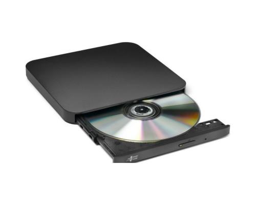Дисковод DVD-RW 8xW/8xRW/8xR/24xW/24xRW/24xR LG GP90NB70, внешн., черный (USB2.0)