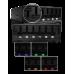 Панель в отсек 5.25 NZXT Sentry Mix (8C-SNNL1-RRW), изменение скорости вращения вентиляторов (6 каналов) при помощи ползунковых регуляторов.